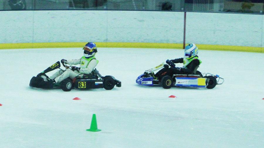 10月3日(土)、新横浜スケートセンターで「第1回「SDGs ERK on ICE~氷上の電気レーシングカートの祭典」が開催された。