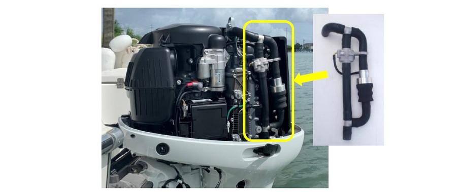 スズキは、世界初となる船外機用マイクロプラスチック回収装置の開発を発表した。
