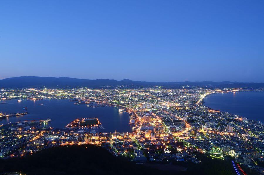 北海道函館市/函館山山頂展望台 くるくら