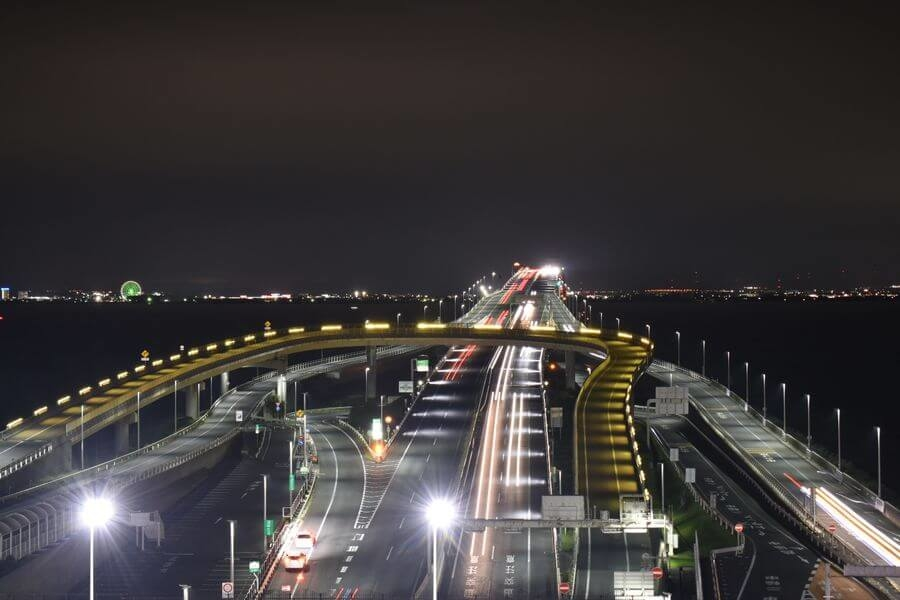 千葉県木更津市/海ほたるパーキングエリア「展望デッキ」|くるくら