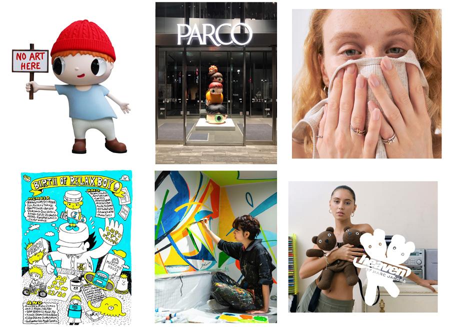 ポルシェ911|ダニエル・アーシャム|アート|渋谷パルコ|渋谷パルコ 1st アニバーサリーの展示イメージ