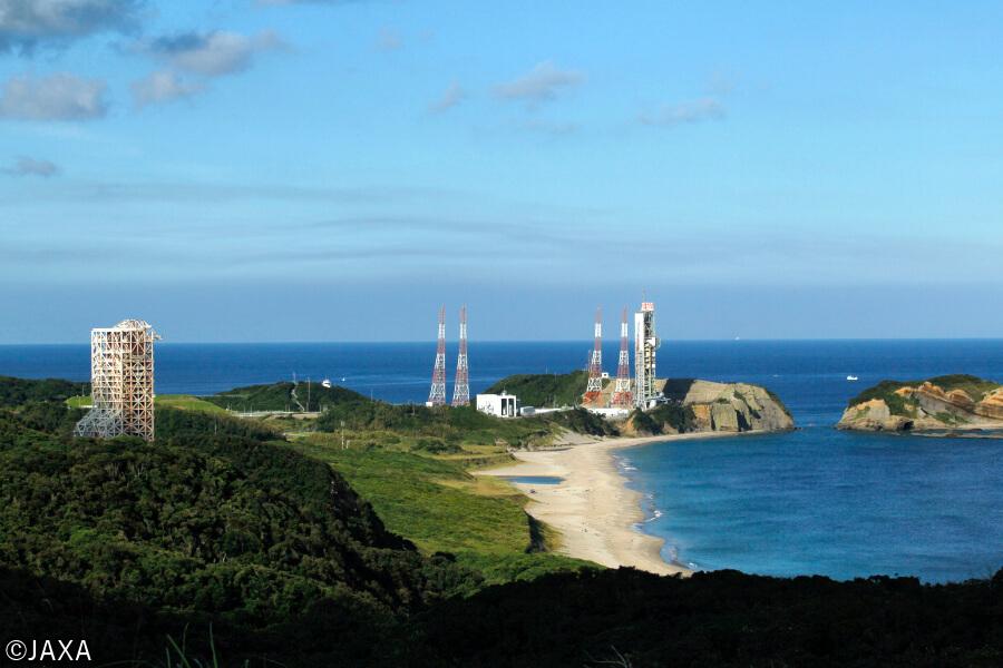 JAXA最大のロケット発射場「種子島宇宙センター」。鹿児島市の南東に位置する種子島にある。