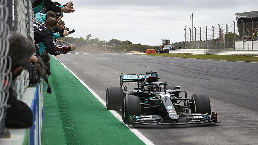 2020年F1最多勝も更新したハミルトン