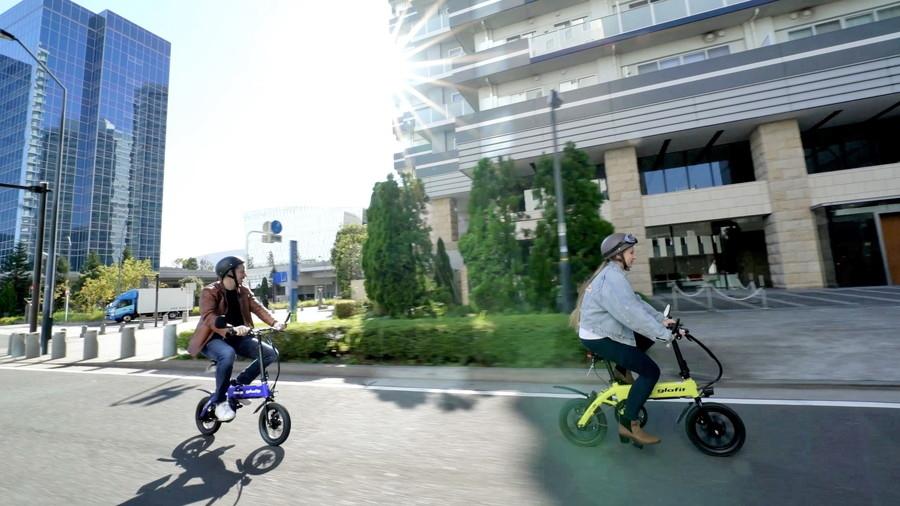 glafitが11月25日、ペダル付電動バイク「GFR-02」を発表した。