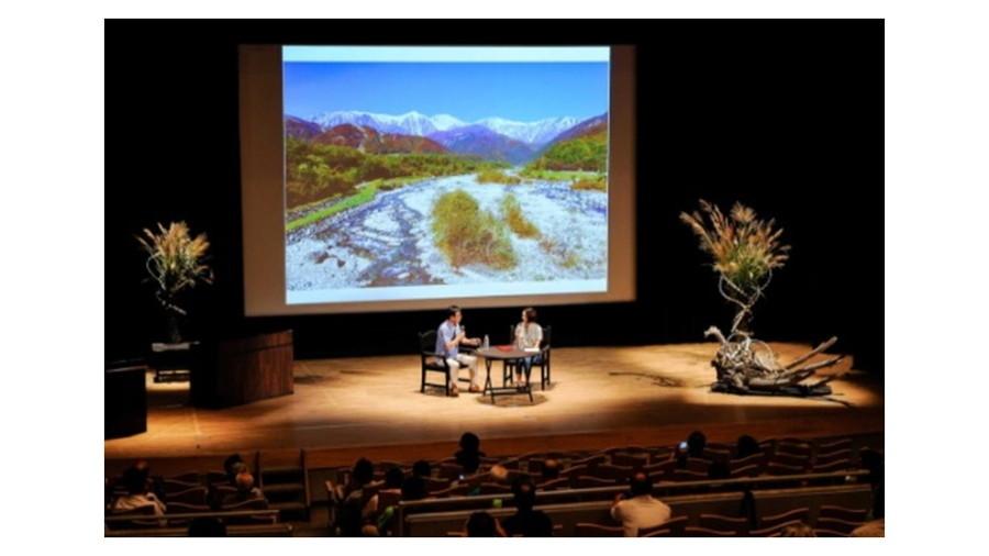 日本EVフェスティバル:白馬村で開催したセミナー風景