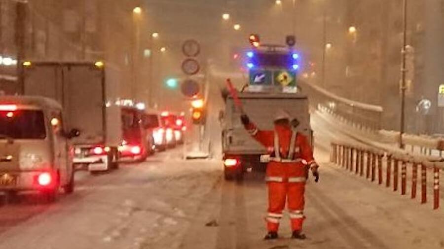 首都圏でも積雪の可能性はあるので、それに備えておこう。画像提供:国土交通省