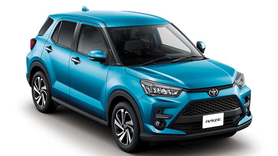 2020年|新車販売台数|ランキング|車名別|トヨタ・ライズ