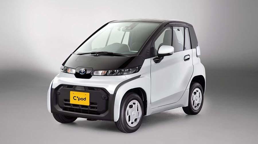 トヨタが現在、法人向けに販売している超小型EV「C+Pod」。グレードは「G」(写真)と「X」がある