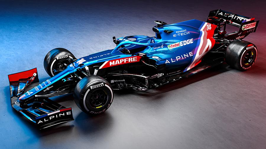 2021年,F1,アルピーヌ