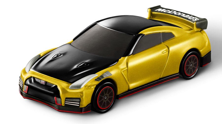 トミカハッピーセット|トミカ|マクドナルド|日産|ひみつのおもちゃ|金色のGT-R NISMO 2022年モデル