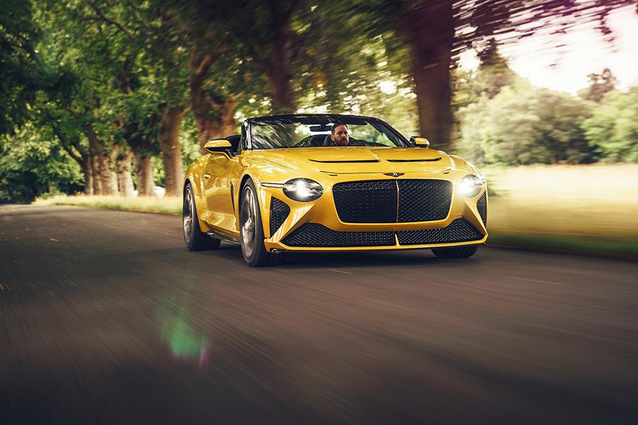 ベントレー マリナーバカラル Bentley Mulliner Bacalar