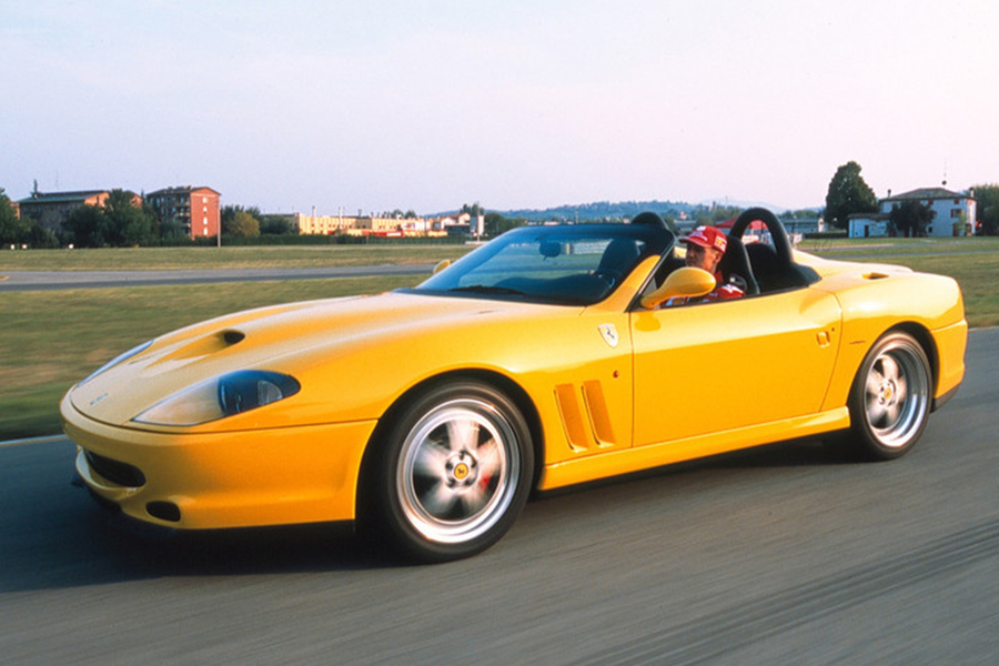 フェラーリ550バルケッタ ピニンファリーナ Ferrari 550 Barchetta Pininfarina