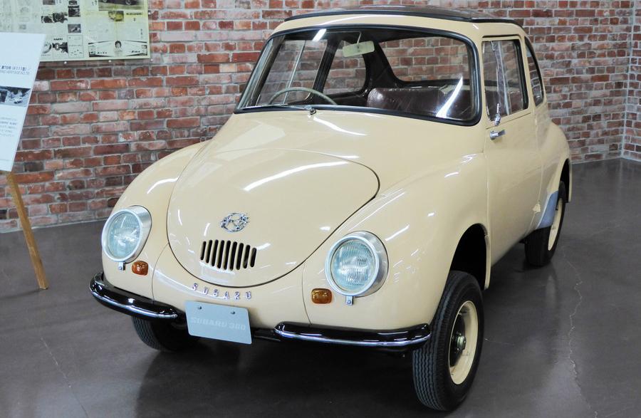 国内初の軽自動車「スバル360」(1958年式)