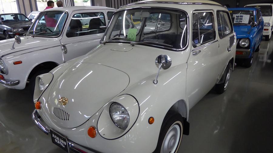 スバル360カスタム(1963年式)