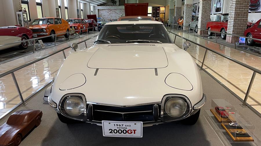 1960年代|自動車博物館|クラシックカー|伊香保おもちゃと人形自動車博物館|トヨタ・2000GT|フロント