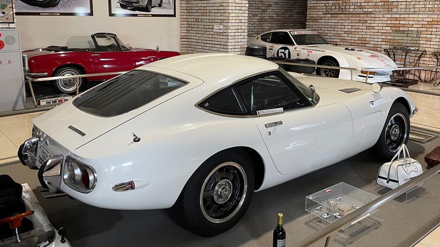 1960年代|自動車博物館|クラシックカー|伊香保おもちゃと人形自動車博物館|トヨタ・2000GT|リア