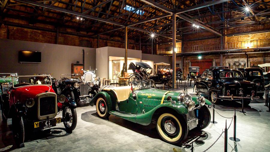 1960年代|自動車博物館|クラシックカー|ミュージアム|GLION MUSEUM|内観