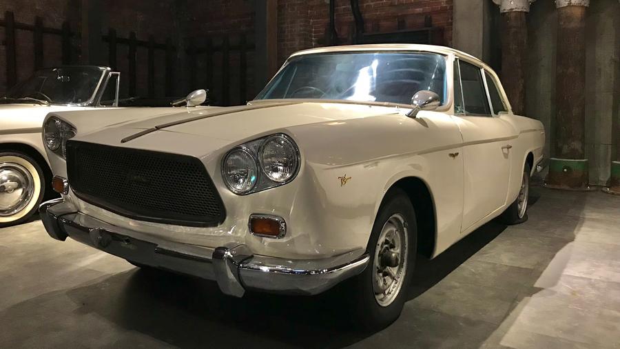 1960年代|自動車博物館|クラシックカー|GLION MUSEUM|プリンス・スカイラインスポーツ|サイド