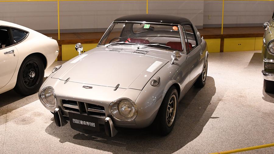 1960年代|自動車博物館|クラシックカー|四国自動車博物館|トヨタ・スポーツ800|斜め前