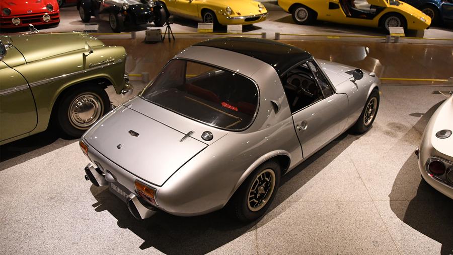 1960年代|自動車博物館|クラシックカー|四国自動車博物館|トヨタ・スポーツ800|リア
