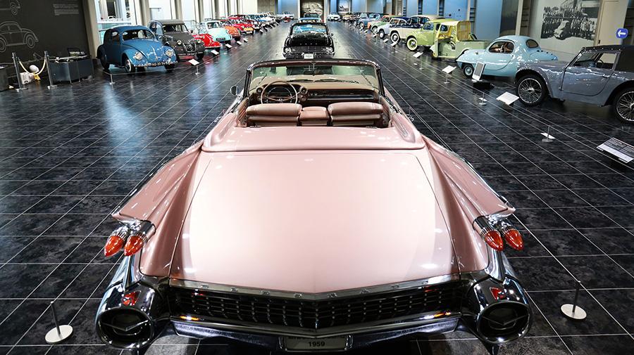 1960年代|自動車博物館|クラシックカー|ミュージアム|トヨタ博物館|内観2