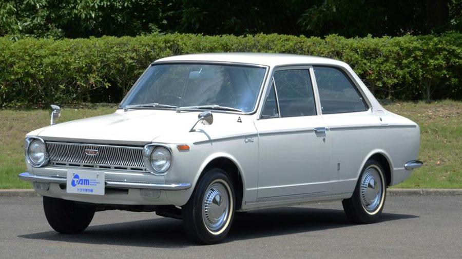 1960年代|自動車博物館|クラシックカー|トヨタ博物館|トヨタ・カローラ KE10型|サイド