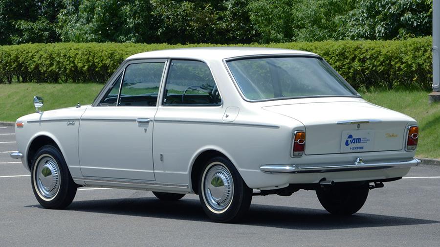 1960年代|自動車博物館|クラシックカー|トヨタ博物館|トヨタ・カローラ KE10型|リア