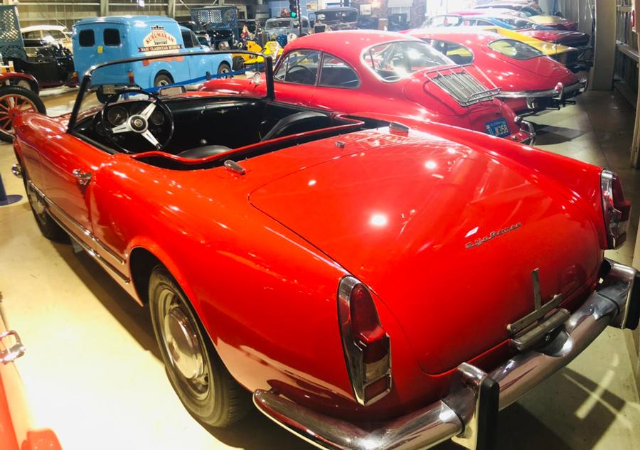1960年代|自動車博物館|クラシックカー|那須クラシックカー博物館|アルファロメオ・2000スパイダー|リア