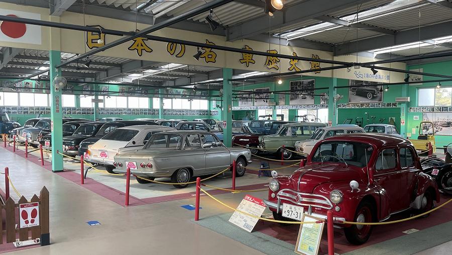1960年代|自動車博物館|クラシックカー|ミュージアム|日本の名車歴史館|内観1
