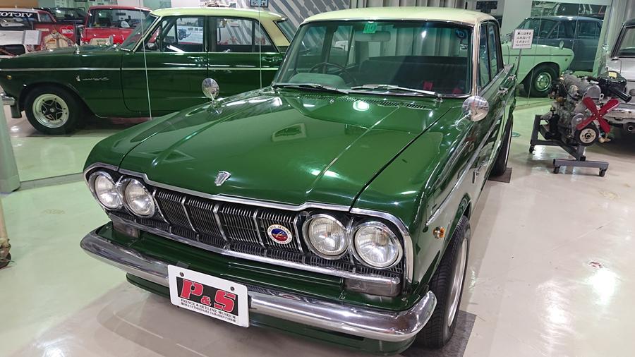 1960年代|自動車博物館|クラシックカー|プリンス&スカイラインミュウジアム|プリンス・スカイライン2000GTB(S54B)|フロント