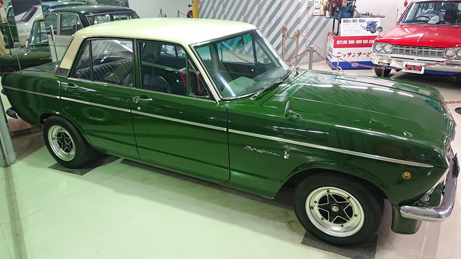 1960年代|自動車博物館|クラシックカー|プリンス&スカイラインミュウジアム|プリンス・スカイライン2000GTB(S54B)|サイド
