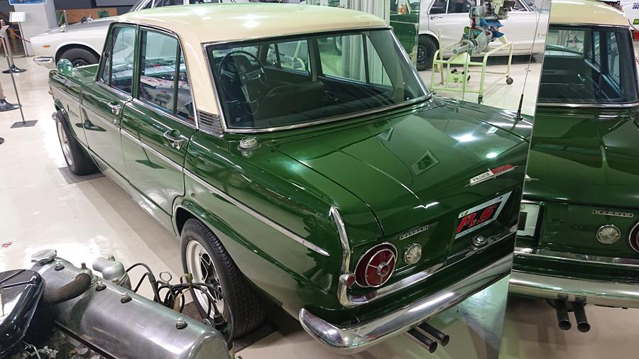 1960年代|自動車博物館|クラシックカー|プリンス&スカイラインミュウジアム|プリンス・スカイライン2000GTB(S54B)|リア