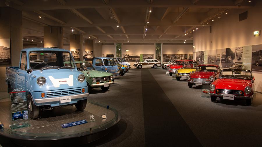 1960年代|自動車博物館|クラシックカー|ミュージアム|ツインリンクもてぎ ホンダコレクションホール|内観2