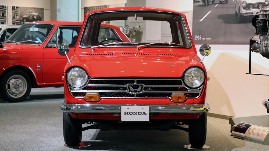 1960年代|自動車博物館|クラシックカー|ツインリンクもてぎ ホンダコレクションホール|ホンダ・N360|フロント