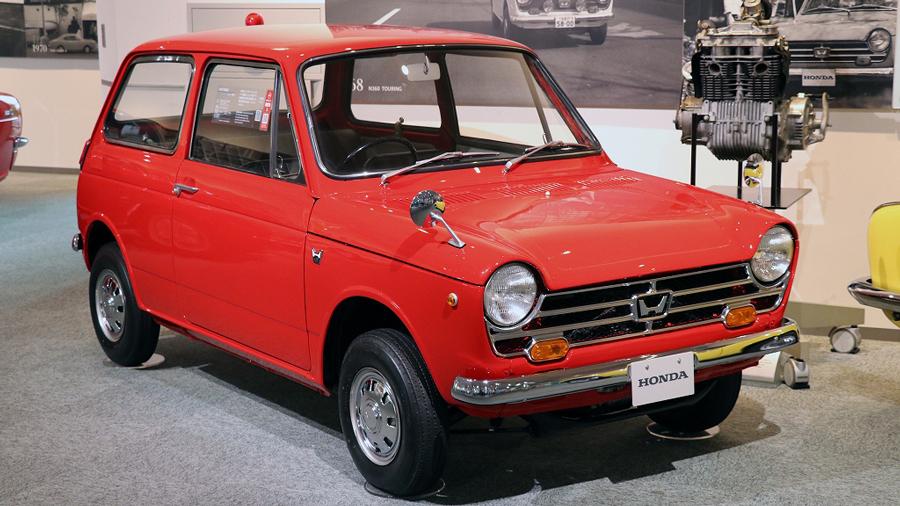 1960年代|自動車博物館|クラシックカー|ツインリンクもてぎ ホンダコレクションホール|ホンダ・N360|サイド
