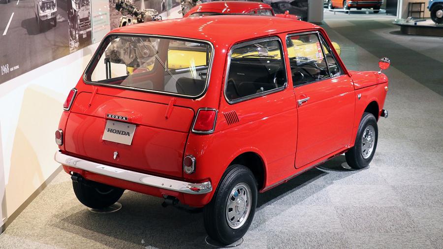1960年代|自動車博物館|クラシックカー|ツインリンクもてぎ ホンダコレクションホール|ホンダ・N360|リア