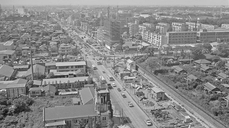 1964年,道路,オリンピック