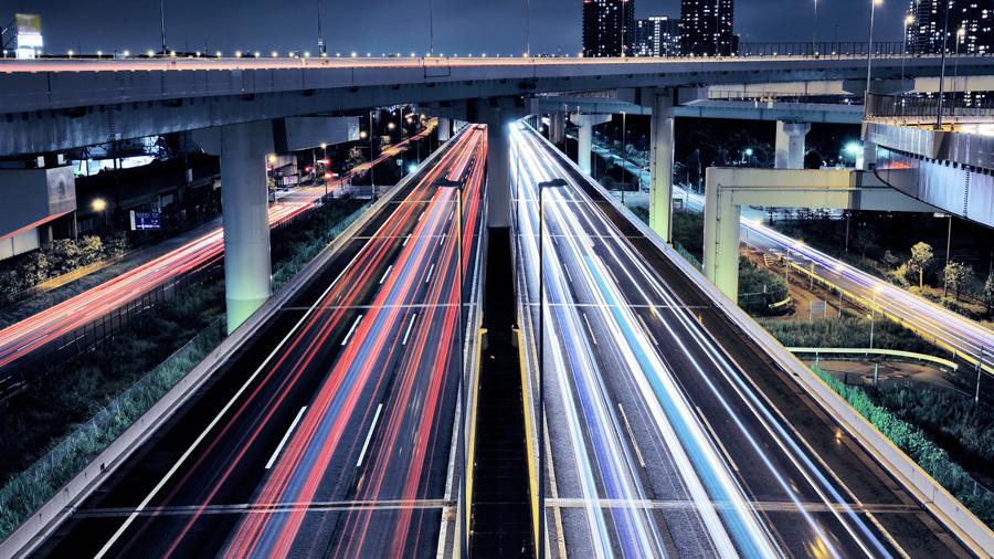 首都高 辰巳第一 箱崎 芝浦 PA 夜間閉鎖 ルーレット族 辰巳JCT付近のイメージ