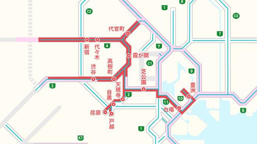 首都高|交通規制|東京|オリンピック・パラリンピック|入口閉鎖|開閉会式の入口閉鎖