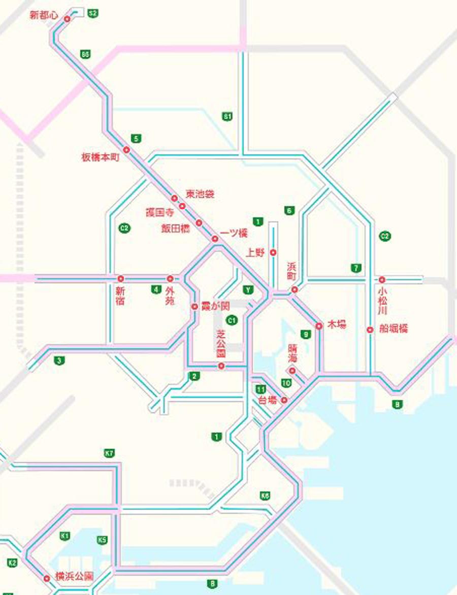 首都高|交通規制|東京|オリンピック・パラリンピック|競技実施日に追加される交通規制箇所