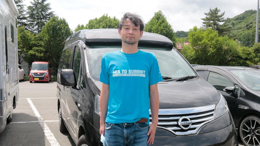 車中泊 暑さ対策 夏 グッズ 対策方法 涼しい カーネル編集長の大橋さん