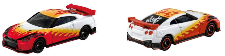 鬼滅の刃|トミカ|鬼滅の刃トミカ vol.2全5種|煉獄 杏寿郎|日産・GT-R NISMO 2020モデル|