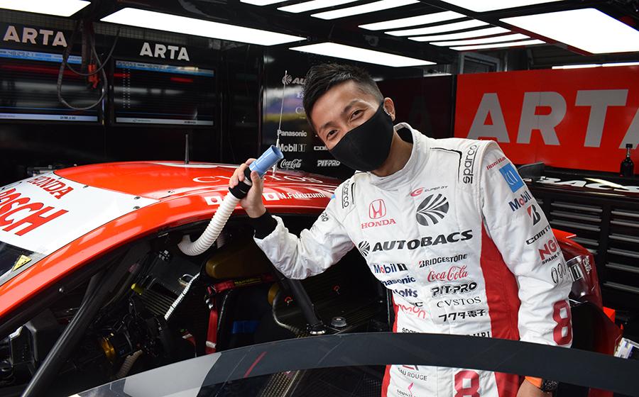 ARTA NSX-GT 野尻智紀選手