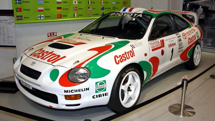 トヨタ・メガウェブのヒストリーガレージには、往年のモータースポーツで活躍した車両も展示されている。