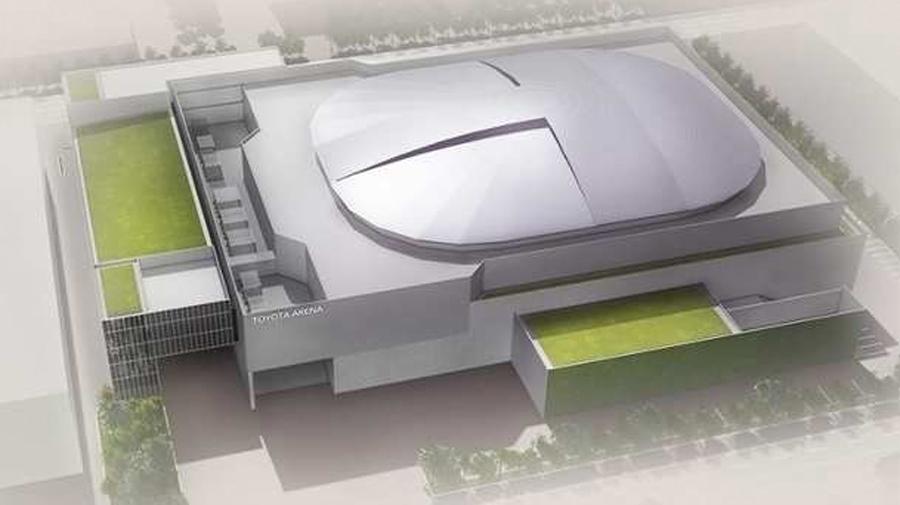 トヨタ|メガウェブ|閉館|パレットタウン|再開発|東和不動産株式会社|大型複合アリーナのイメージ