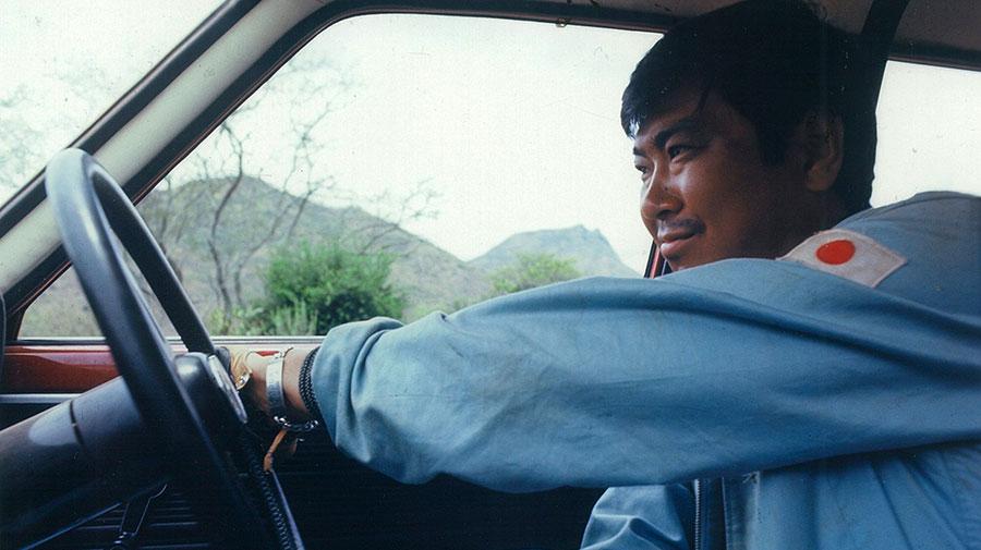 映画『栄光への5000キロ』での石原裕次郎